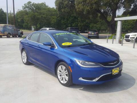 2015 Chrysler 200 for sale at Bostick's Auto & Truck Sales in Brownwood TX