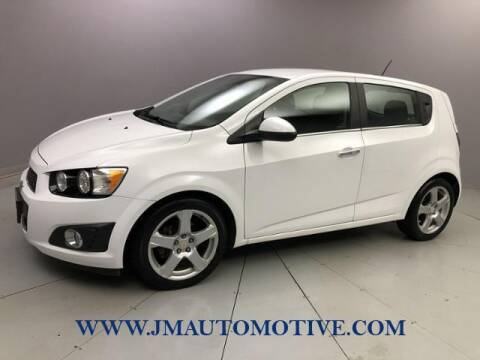 2016 Chevrolet Sonic for sale at J & M Automotive in Naugatuck CT