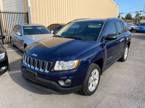 2012 Jeep Compass for sale at CONTRACT AUTOMOTIVE in Las Vegas NV