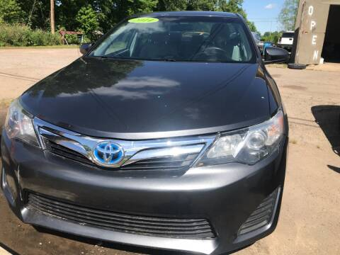 2014 Toyota Camry for sale at BEST AUTO SALES in Russellville AR