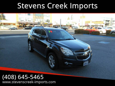 2014 Chevrolet Equinox for sale at Stevens Creek Imports in San Jose CA