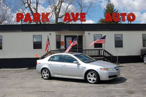 2006 Acura TL for sale at Park Ave Auto Inc. in Worcester MA