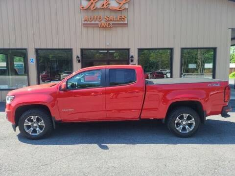 2017 Chevrolet Colorado for sale at K & L AUTO SALES, INC in Mill Hall PA