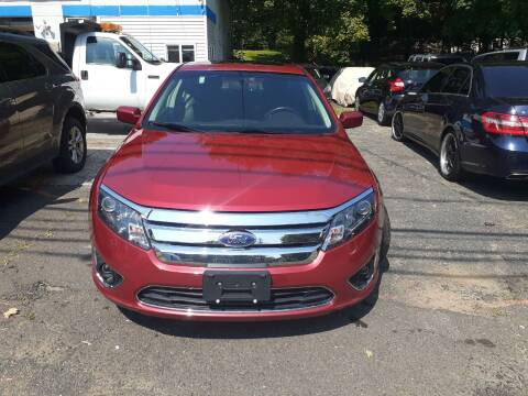 2012 Ford Fusion for sale at Broad Street Auto in Meriden CT