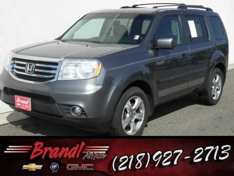 2013 Honda Pilot for sale at Brandl GM in Aitkin MN