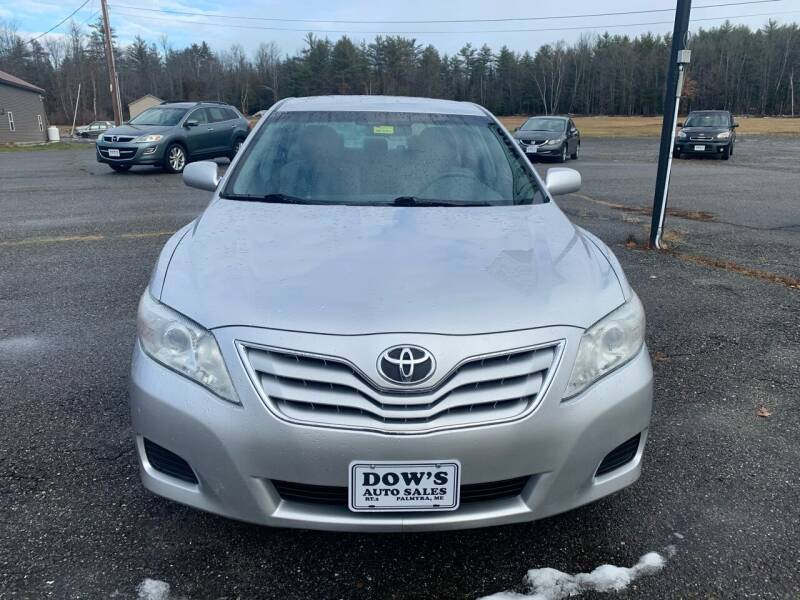 2011 Toyota Camry for sale at DOW'S AUTO SALES in Palmyra ME