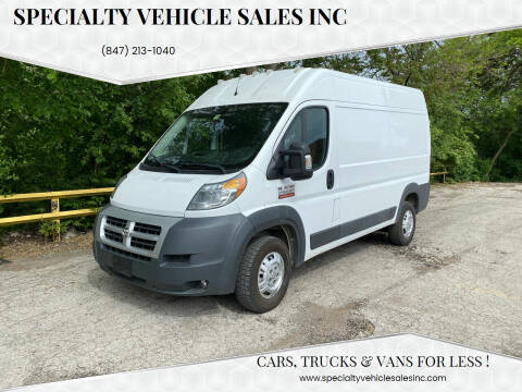 2014 RAM ProMaster Cargo for sale at SPECIALTY VEHICLE SALES INC in Skokie IL