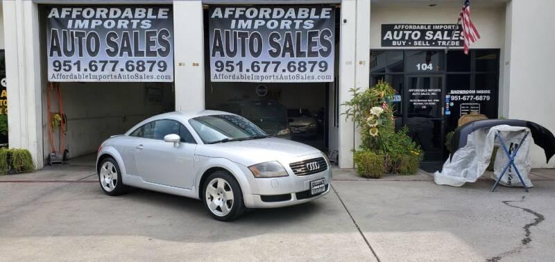 2001 Audi TT for sale in Murrieta, CA