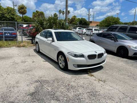 2012 BMW 5 Series for sale at CARSTRADA in Hollywood FL