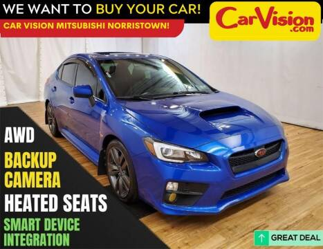 2016 Subaru WRX for sale at Car Vision Mitsubishi Norristown in Norristown PA