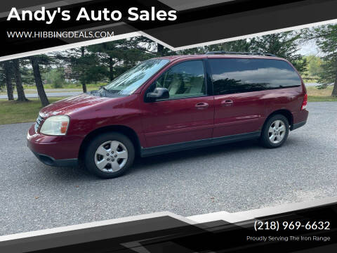 2005 Ford Freestar for sale at Andy's Auto Sales in Hibbing MN