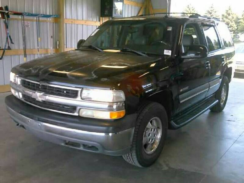 2003 Chevrolet Tahoe for sale at Steve's Auto Sales in Madison WI