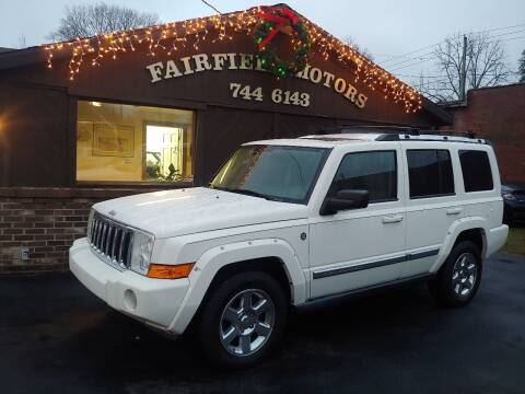 2006 Jeep Commander for sale at Fairfield Motors in Fort Wayne IN
