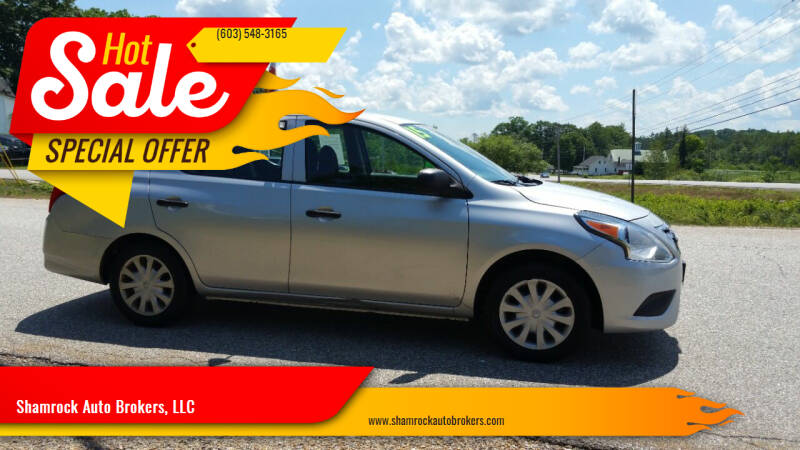 2015 Nissan Versa for sale at Shamrock Auto Brokers, LLC in Belmont NH