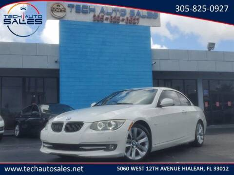2013 BMW 3 Series for sale at Tech Auto Sales in Hialeah FL