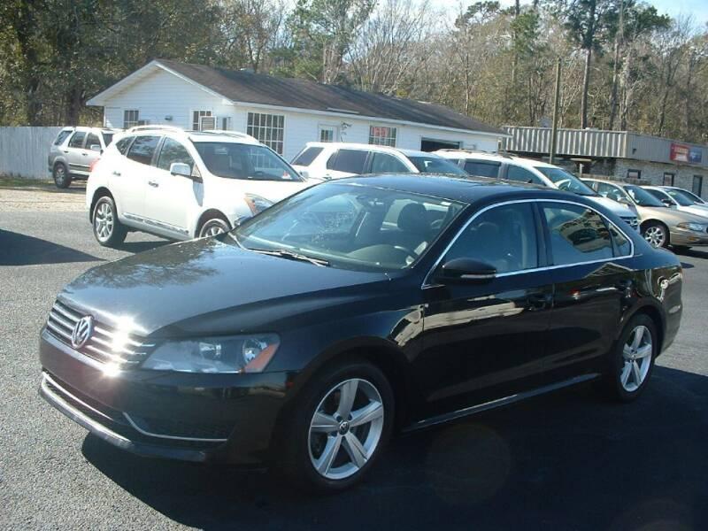2012 Volkswagen Passat for sale at Northgate Auto Sales in Myrtle Beach SC