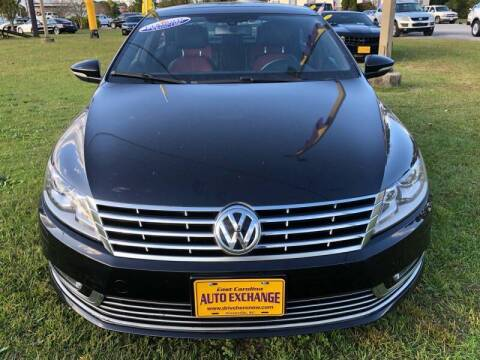 2013 Volkswagen CC for sale at Greenville Motor Company in Greenville NC