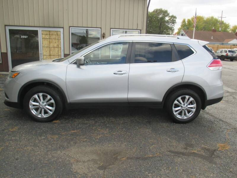 2015 Nissan Rogue for sale at Home Street Auto Sales in Mishawaka IN