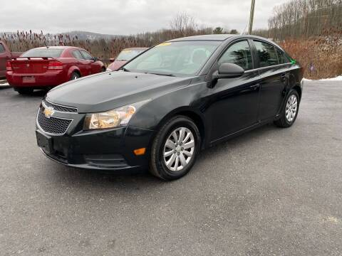 2011 Chevrolet Cruze for sale at Pine Grove Auto Sales LLC in Russell PA