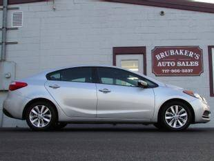 2016 Kia Forte for sale at Brubakers Auto Sales in Myerstown PA