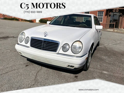1999 Mercedes-Benz E-Class for sale at C5 Motors in Marietta GA