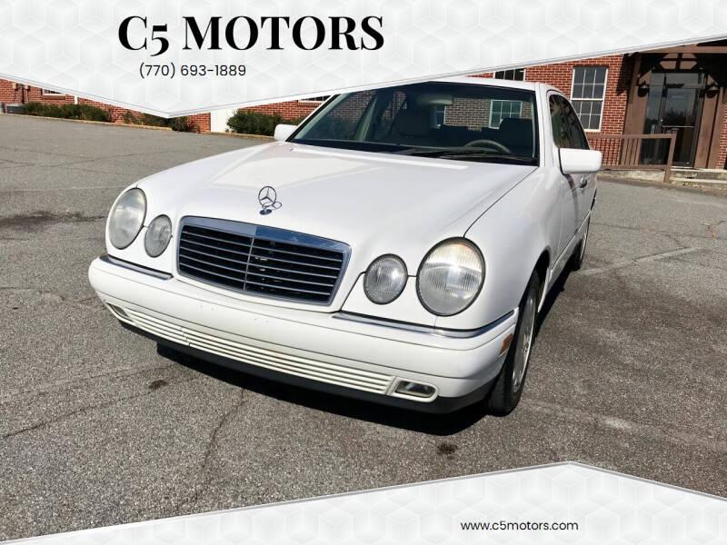 1999 Mercedes-Benz E-Class for sale at C5 Motors in Marietta GA