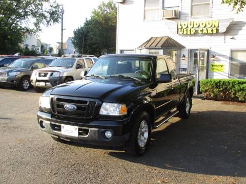 2011 Ford Ranger for sale at Loudoun Used Cars in Leesburg VA