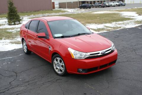 2008 Ford Focus for sale at MARK CRIST MOTORSPORTS in Angola IN