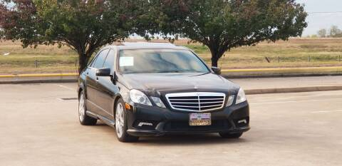 2011 Mercedes-Benz E-Class for sale at America's Auto Financial in Houston TX