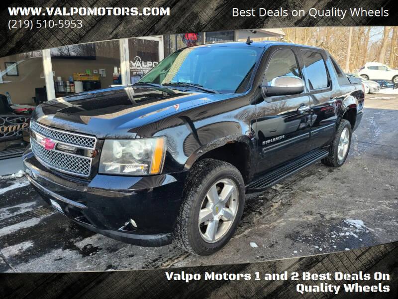 2010 Chevrolet Avalanche for sale at Valpo Motors Inc. in Valparaiso IN