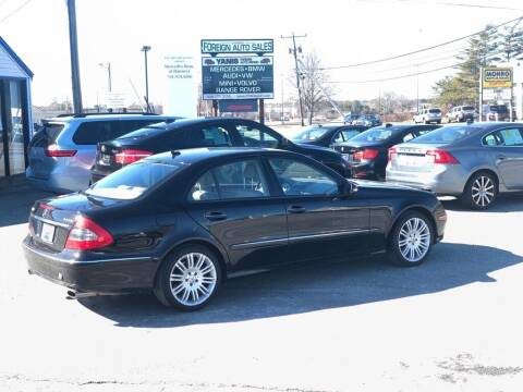 2008 Mercedes-Benz E-Class for sale at HYANNIS FOREIGN AUTO SALES in Hyannis MA