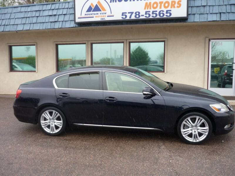 2008 Lexus GS 450h for sale at Mountain View Motors Inc in Colorado Springs CO