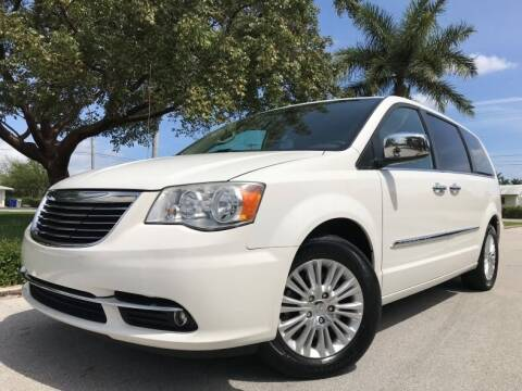 2013 Chrysler Town and Country for sale at DS Motors in Boca Raton FL