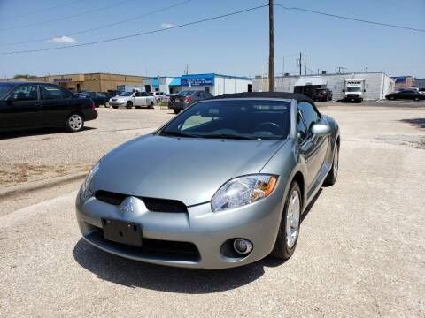 2008 Mitsubishi Eclipse Spyder for sale at Image Auto Sales in Dallas TX