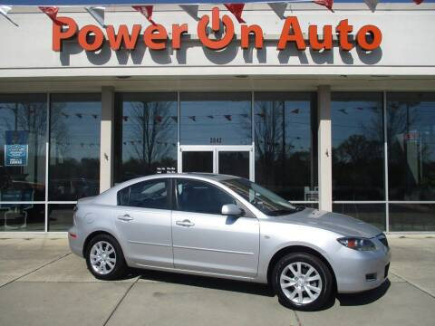 2007 Mazda MAZDA3 for sale at Power On Auto LLC in Monroe NC