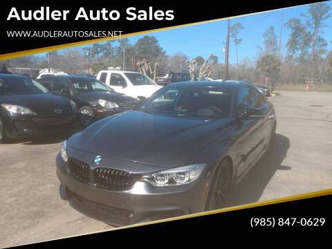2015 BMW 4 Series for sale at Audler Auto Sales in Slidell LA