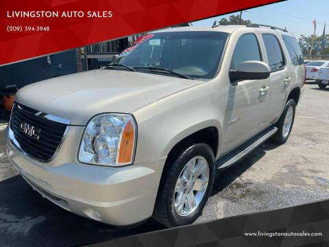 2007 GMC Yukon for sale at LIVINGSTON AUTO SALES in Livingston CA