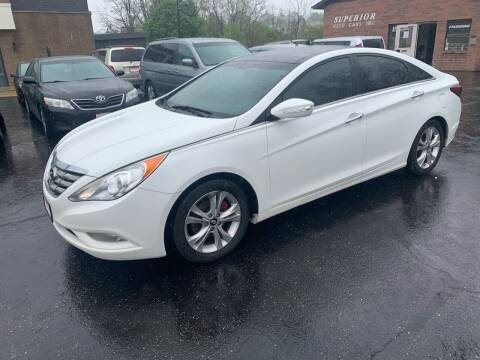 2012 Hyundai Sonata for sale at Superior Used Cars Inc in Cuyahoga Falls OH