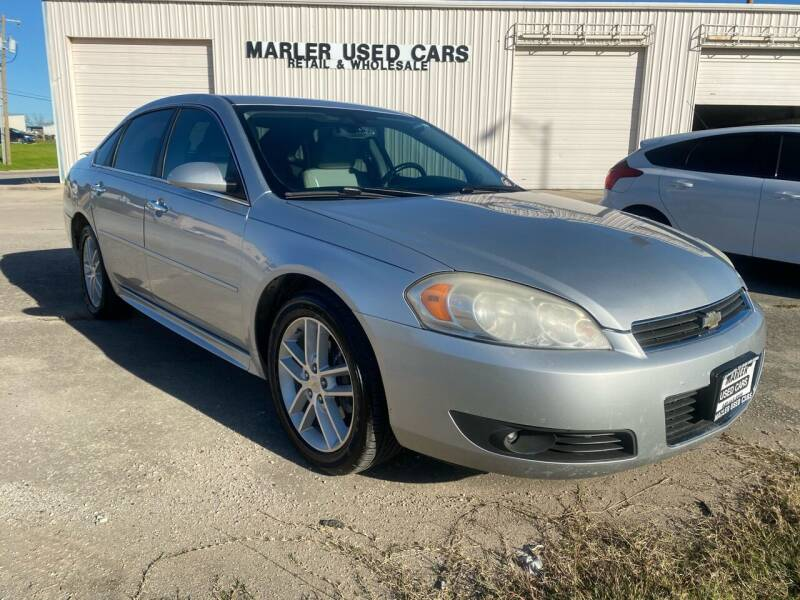 2011 Chevrolet Impala for sale at MARLER USED CARS in Gainesville TX