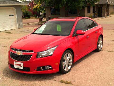 2014 Chevrolet Cruze for sale at Alpha Auto - Mitchell in Mitchel SD