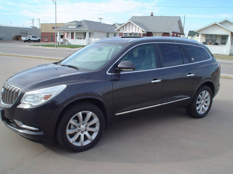 2017 Buick Enclave for sale at World of Wheels Autoplex in Hays KS