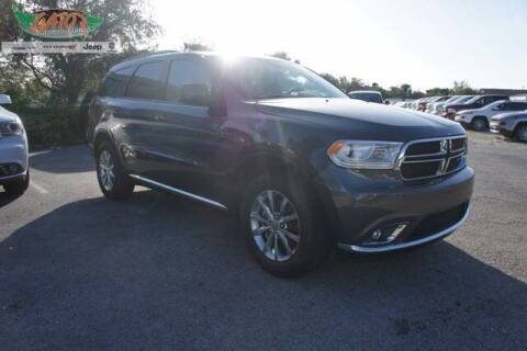 2018 Dodge Durango for sale at GATOR'S IMPORT SUPERSTORE in Melbourne FL