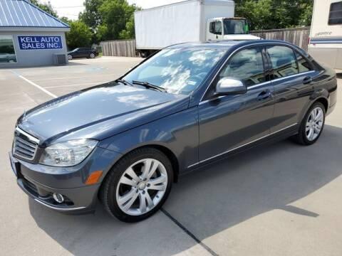 2008 Mercedes-Benz C-Class for sale at Kell Auto Sales, Inc - Grace Street in Wichita Falls TX