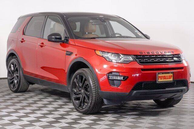 2016 Land Rover Discovery Sport for sale at Washington Auto Credit in Puyallup WA