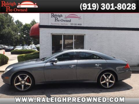 2009 Mercedes-Benz CLS for sale at Raleigh Pre-Owned in Raleigh NC