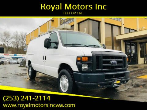 2009 Ford E-Series Cargo for sale at Royal Motors Inc in Kent WA