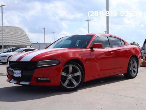 2015 Dodge Charger for sale at BIG STAR HYUNDAI in Houston TX