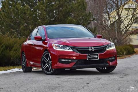 2017 Honda Accord for sale at Rosedale Auto Sales Incorporated in Kansas City KS