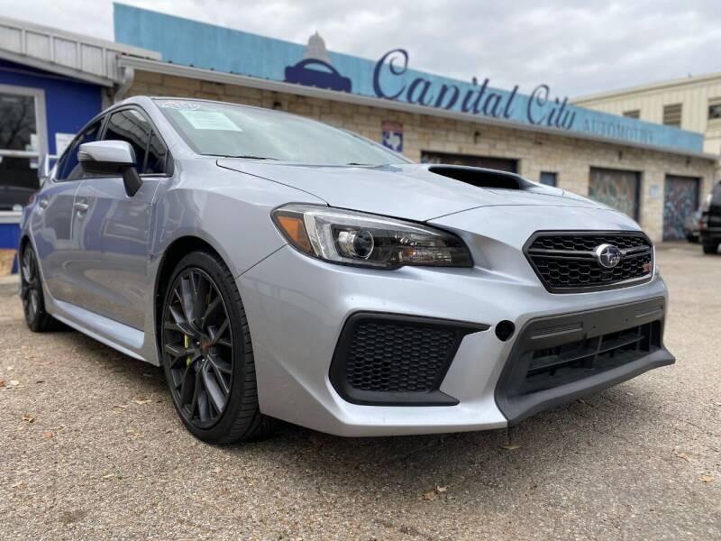 2018 Subaru WRX for sale at Capital City Automotive in Austin TX