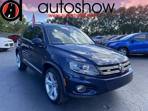 2016 Volkswagen Tiguan for sale at AUTOSHOW SALES & SERVICE in Plantation FL